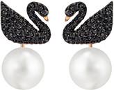 Swarovski Iconic Swan Pierced Earring Jackets