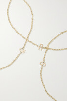 Thumbnail for your product : STONE AND STRAND Initial Gold Bracelet - O
