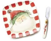 Vietri Old St. Nick Plate & Spreader