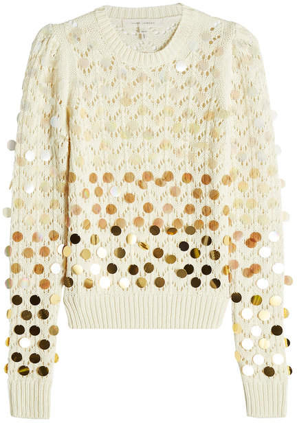 Marc Jacobs Wool Pullover with Sequins