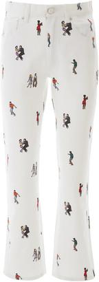 Kirin Dancers Print Jeans