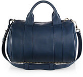 Alexander Wang Rocco Pebbled Leather Duffel Bag