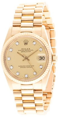 Rolex Pre-Owned Oyster Perpetual Datejust watch
