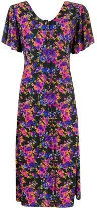 Vetements Camelia floral-print midi dress