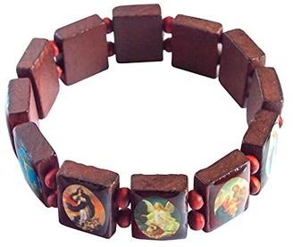 Saraswati Unisex No Metal Stretch Bracelet - AK122