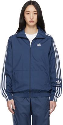 adidas Blue Lock Up Track Jacket