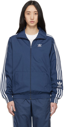 adidas Blue Lock Up Track Jacket