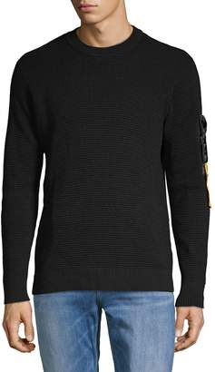 Diesel Waffle-Knit Cotton Sweater