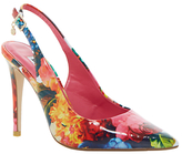 Dune Chelsea Occasion Slingback Court Shoes, Floral