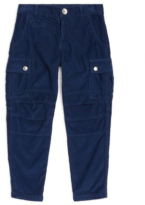BRUNELLO CUCINELLI KIDS Cargo Trousers (8-11 Years)