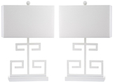 Safavieh Greek Key Table Lamps (Set of 2)