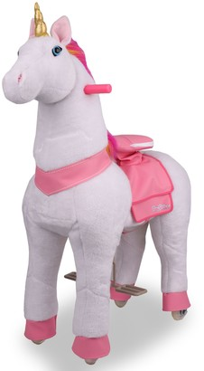 PonyRider Plush Ride-On Unicorn