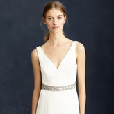 J.Crew Jeweled satin sash