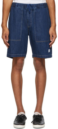 Saturdays NYC Indigo Denim Quinn Shorts