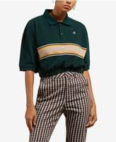 Volcom Juniors' Pick Me Yay Cropped Polo