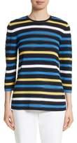 St. John Ombre Stripe Sweater