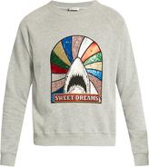 Saint Laurent Sweet Dreams-embellished sweatshirt