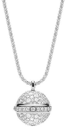 Piaget Possession 18K White Gold & Diamond Pendant Necklace