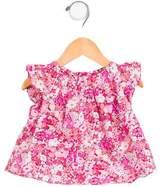 Jacadi Girls' Printed Short Sleeve Top