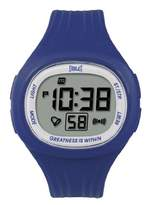 Everlast 33-502DG Unisex Digital Watch with LCD Dial Digital Display and Blue Plastic or PU Strap EV-502-108