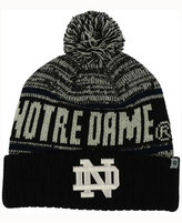 Top of the World Notre Dame Fighting Irish Acid Rain Pom Knit Hat