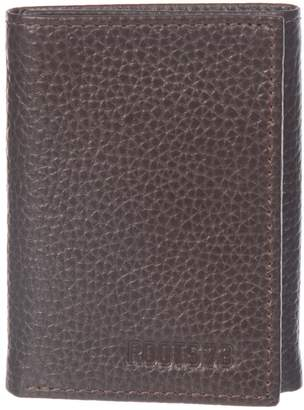 Roots 73 Minimalist Trifold Leather Wallet