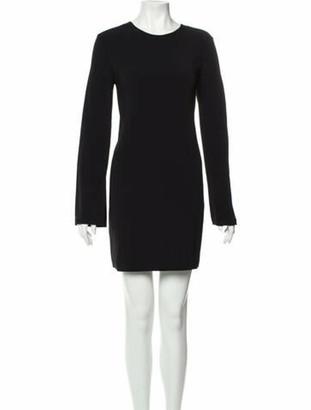 Alexander Wang Crew Neck Mini Dress w/ Tags Black