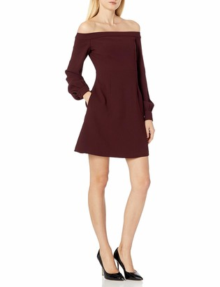 Jill Stuart Jill Women's Off The Shoulder Short Dress