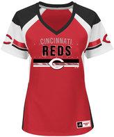 Majestic Women's Cincinnati Reds Draft Me T-Shirt
