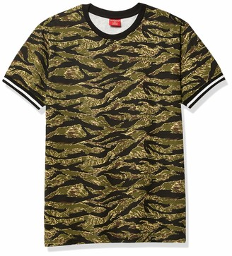 Forever 21 Men's Victorious Tiger Camo Print Tee