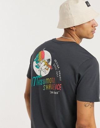 Hurley Matsumoto Shave Ice t-shirt in grey