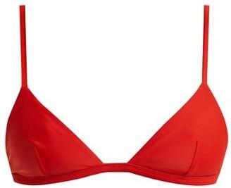 Matteau The Petite Triangle A-b Bikini Top - Red