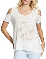 Jessica Simpson Lorani Cold-Shoulder Top