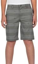 Volcom Boy's Stripe Twill Shorts