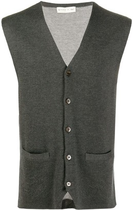 Etro Knitted Leopard Gilet