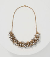 LOFT Pearlized Bauble Necklace