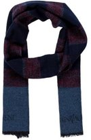 Saint Laurent Wool Stripe Scarf