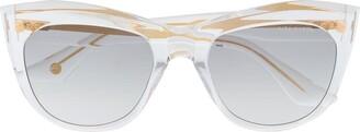 Dita Eyewear Kader square-frame sunglasses