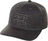 Billabong All Day Heather Stretch Fitted Cap Black
