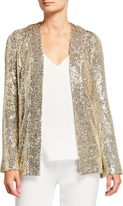 Galvan Sequin Embellished Evening Jacket