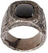 Tobias Wistisen 'Leather Stone' ring