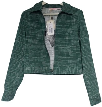 See by Chloe Green Cotton Jackets