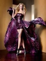 Alyce Paris Claudine - 2086 Dress in Fuschia Black