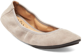 Me Too Light Gray Suede Ballet Flat