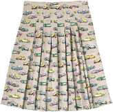 Cath Kidston Fast Cars Pleated Skirt