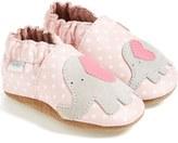 Robeez 'Little Peanut' Crib Shoe (Baby & Walker)