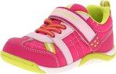 Tsukihoshi Child 21 Sneaker (Toddler/Little Kid), Fuchsia/Mint, 10.5 M US Little Kid