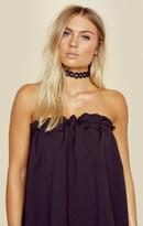 Natalie B janice choker black lace