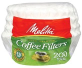 Melitta Super Premium White Coffee Filters 200-ct.