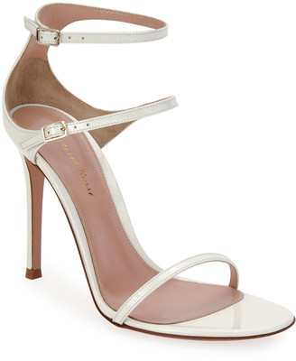 Gianvito Rossi Triple-Strap High-Heel Sandals